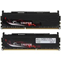 G.SKILL Sniper Series 16GB 2 X 8GB 240-Pin DDR3 SDRAM DDR3 2400 PC3 19200 Desktop Memory Model F3-2400C11D-16GSR