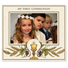 Enesco This is The Day 1st Communion Photo Frame, 6.78-Inch