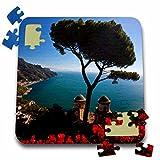 Danita Delimont - Italy - Italy, Amalfi Coast, Ravello, Villa Rufolo - EU16 TEG0516 - Terry Eggers - 10x10 Inch Puzzle (pzl_138325_2)