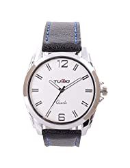 Turbo Youth Analogue Silver Dial Men's Watch - R100-002S