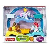 Little People, Disney Princess, Klip Klop Set, Princess Pack (Belle, Ariel, And Cinderella), 3-Pack