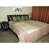 Amita's Home Furnishing Multi Color Floral Design Patch Work Single Bed Dohar Cum Duvet Cover (Set Of 2 )