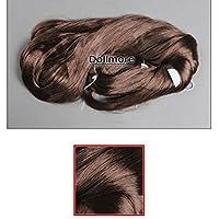 Dollmore Wig Saran Hair 0441(Wine Reddish Brown)