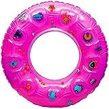 NOVICZ Inflatable Floating Tube 80 Cm Diameter Swimming Tube Pool Beach Float Raft Tube Water Floating Tube Swim...