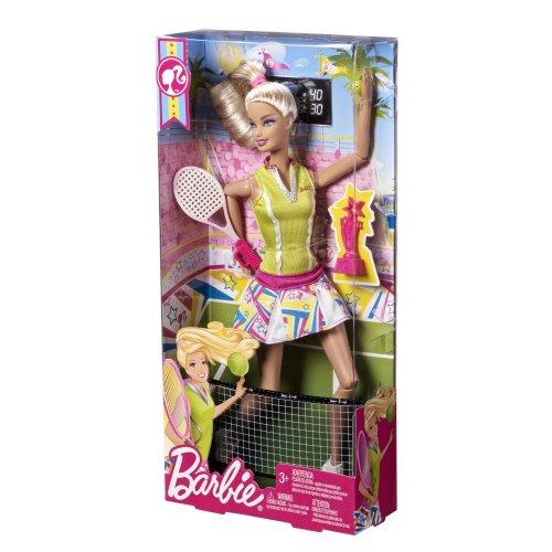 w barbie  dollchampion tennis