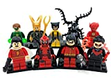 Marvel Super Heroes Avengers Minifigures 18pcs/lot Iron Man Batman Building Block Sets Model Bricks Toys Lego Compatible