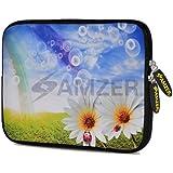 Amzer 10.5 Inch Neoprene Sleeve Daisy Springs For Apple IPad Air, Apple IPad 4, Apple IPad 2