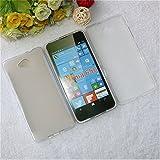 Best Deals - Premium Silicon Soft Back Case Cover For Microsoft / Nokia Lumia 650 - White