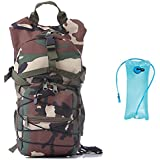CC-JJ - 2.5L Outdoor Sport Bike Back Pack 2L TPU Camelback