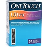 Johnson & Johnson One Touch ULTRA 50 Test Strips For Onetouch ULTRA