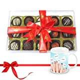 Combo Of Chocolates And Truffles Collection With Friendship Mug - Chocholik Luxury Chocolates