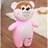 Imported And New Crish Zodiac Dog Plush Toys Stuffed Animals Dog Doll (Pink)