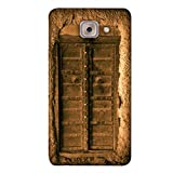 PrintVisa Designer Back Case Cover For Samsung Galaxy On Max (Golden Door Vintage Wall Home)