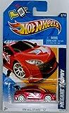 Hot Wheels 2012-122 HW All Stars '12 MEGANE Trophy RED 1:64 Scale SCAN & TRACK Card
