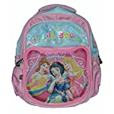 Wise Guys Princess Embossed 3D Print School Bag For Kids - Light Pink 1