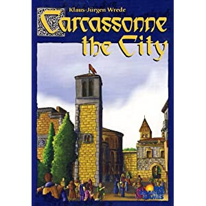 Click to buy Carcassonne: The City expansion from Amazon!