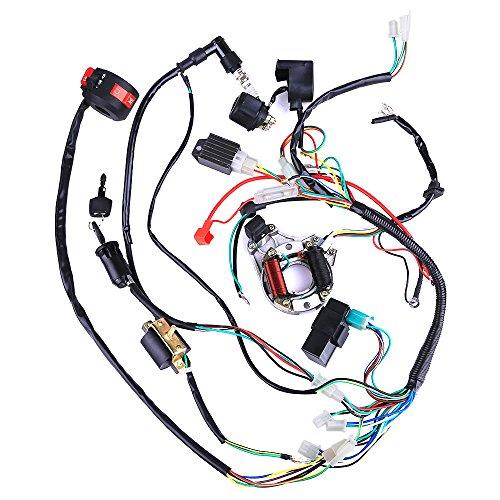 Complete Electrics Coil CDI Wiring Harness ATV KLX Stator 50cc 70cc 110cc 125cc