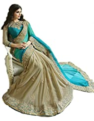 Aracruz Women's Clothing Designer Party Wear Low Price Sale Offer Multi Color Embroidered Georgette Free Size...