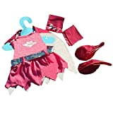 """Bat Girl Outfit Fits Most 8"""" 10"""" Webkinz, Shining Star And 8"""" 10"""" Make Your Own Stuffed Animals And Build A Bear"""
