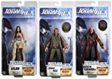 NECA Jonah Hex inches Action Figure Set of 3 by NECA