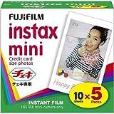 FUJIFILM インスタントカメラ チェキ用フィルム 50枚入 チエキフイルム INSTAX MINI KY 5