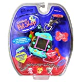 Hasbro Year 2006 Littlest Pet Shop Digital Pets Series Virtual Game - Green IGUANA Digital Game With Charms To...
