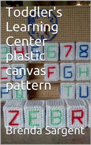Toddler's Learning Center plastic canvas pattern
