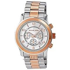 Michael Kors Oversized Two-Tone Watch