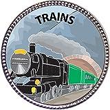 Keepsake Awards Trains Silver Award Pin
