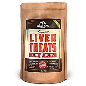 Rocco & Roxie Supply Liver Treats, Gourmel for Dogs, 16 Oz