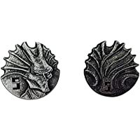 "Sci Fi ""5"" Pack (Set Of 10) Metal Adventure Coins For Rp Gs/ Larp