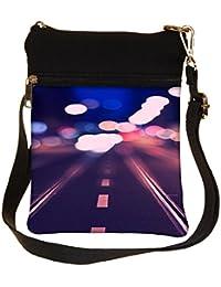 Snoogg Hazy Nights Cross Body Tote Bag / Shoulder Sling Carry Bag