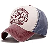 Generic Wine Red : Cotton Baseball Caps Men Women Casual Outdoor Sport Hats For Men Caps Female Summer Snapbacks Hip-Hop Caps Gorras Baseball Hat