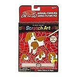 Melissa & Doug On The Go Scratch Art: Animal Families Hidden-Picture PadMelissa & Doug On The Go Scr
