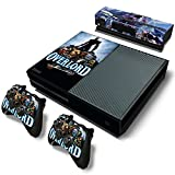 Tech Discovery Designer Xbox One Console + Controllers and Kinect Skin Set - Overlord - Xbox One Vinyl