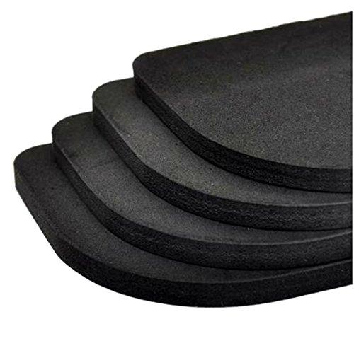Lot de 4 patins isolants anti-bruit et anti-vibration Pour machine à laver, réfrigérateur, meuble, etc.
