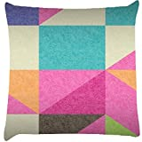 Snoogg Abstract Signs Cushion Cover Throw Pillows 16 X 16 Inch