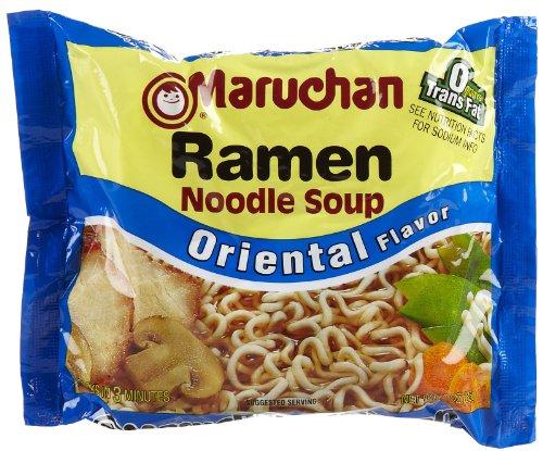 Maruchan Ramen Oriental flavor, 3 oz, 24 ct