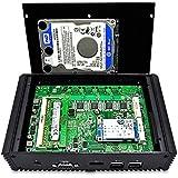 High Performance Mini Computer Intel Dual Core 3215U CPU 4G DDR3 Ram 64G Msata SSD HD Video COM 4 NICs 4 USB Ports