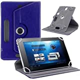 """Hello Zone Exclusive 360° Rotating 8"""" Inch Flip Case Cover Book Cover For Asus Zenpad 8.0 8GB/1GB (Z380KL) -Blue"""