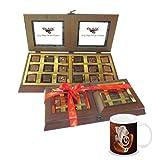Chocholik - 18 PC Delightful Chocolate Box With Diwali Special Coffee Mug - Gifts For Diwali