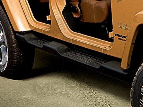 2016 Jeep Wrangler Unlimited Running Boards OEM Mopar 4-Door