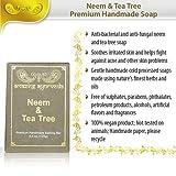 Amazing Ayurveda Premium Handmade Soap, Neem And Tea Tree, 125g