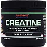 Ammos Nutrition Creatine 100% Pure Micronized Creatine Unflavour 50 Servings