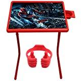Multi Purpose Foldable Multi Table Mate Laptop Multi Table Mate - Cartoon Red Table Mate & Free OK Stand(OK Stand For SmartPhones And Tablets - Color May Vary)