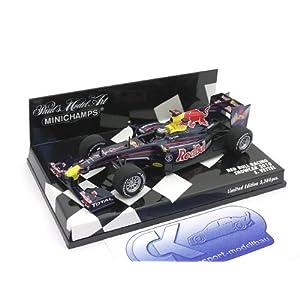 Für alle Sebastian Vettel Fans: Red Bull RB6 Showcar für 39,40 € inkl. VSK!
