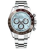 Rolex Daytona Platinum Watch Ice Blue Ceramic 116506 Unworn 2016