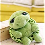 New Arriving 18 Cm Army Green Big Eyes Turtle Plush Toy Turtle Doll Turtle Kids