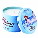Shine Candles Premium Soy Scented Ocean Breeze Candle (6.2 Oz.)