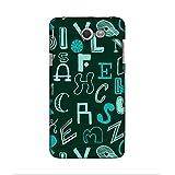 FUSON Designer Back Case Cover For Samsung Galaxy J5(2017) (english Alphabets Capital Caligraphy )